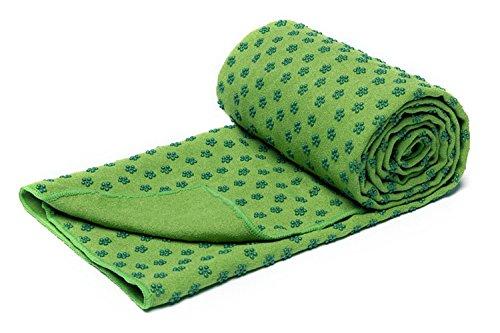 voidbiov Quick Dry rutschfeste Yoga Handtücher (6 Farben) mit Mesh-Tragetasche, extra lang (62 x 183 cm/62 x 182,9 cm) Dot Grip Bikram Yoga