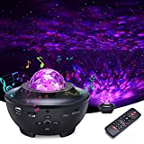 Star Projector, Galaxy Projector Night Light with Voice Control, Timing...