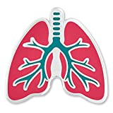 PinMart The Human Lungs Medical Enamel Lapel Pin