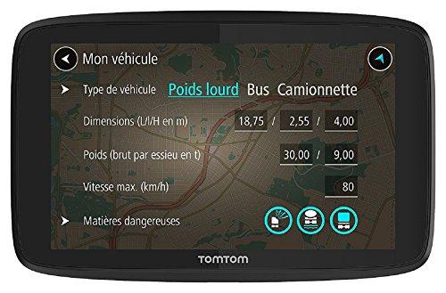TomTom 1PN5.002.07 go professional 520,GPS per mezzi pesanti,mappe a vita, Europa, 48 paesi