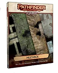 Playtest the new pathfinder rules in style with this collection of two double-sided flip-mats Featured areas include a burnt-out crypt under the city of magnimar A ruined temple in the demon-infested worldwoundSpecifications Author: Jason A Engle Wei...