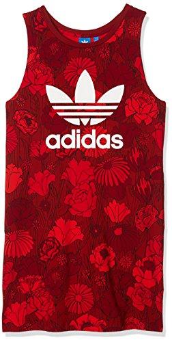 adidas Damen Trefoil Tank Kleid, Multicolor, 40