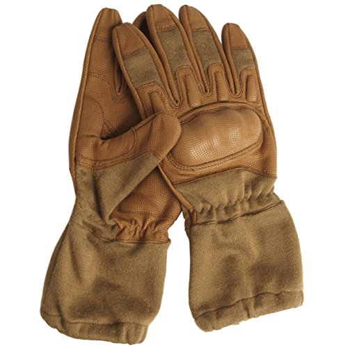 Nomex Action Gloves m. Stulpe coyote Gr.L