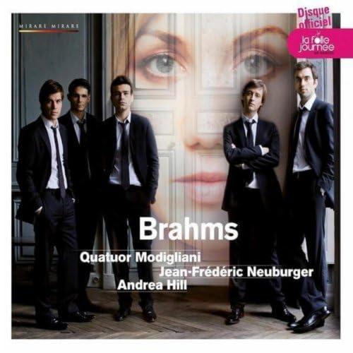 Quatuor Modigliani, Jean Frédéric Neuburger, Andrea Hill & Laurent Marfaing