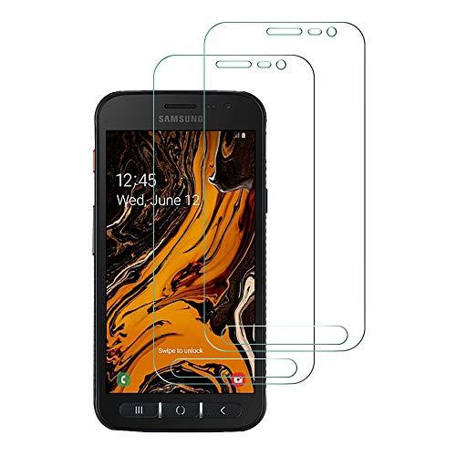 Widamin 2Pack, Panzerglas Schutzfolie für Galaxy Xcover 4S/Xcover 4, Displayschutzfolie, Hohe Auflösung Glas, [9H Härte], [Crystal Clearity] Compatible für Samsung Galaxy Xcover 4S