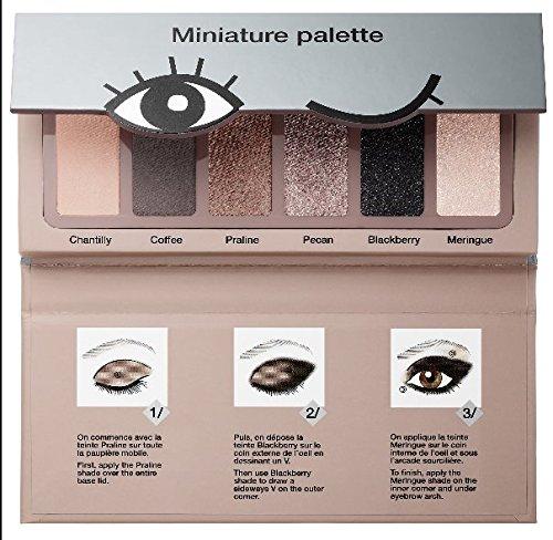 Sephora Miniature Palette Nougat Lidschatten