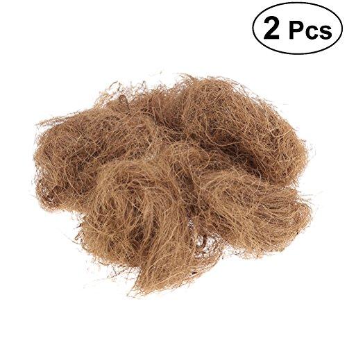 UKCOCO 2Pcs Vogelnest Kokosnuss Nester Komfortable Vogelkäfig Kit für Sittiche Wellensittich und Kleines Haustier