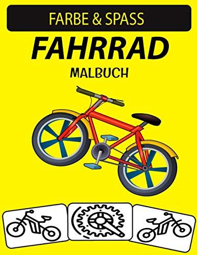 Fahrrad Malbuch: 30 Fahrrad Malvorlagen für Kinder