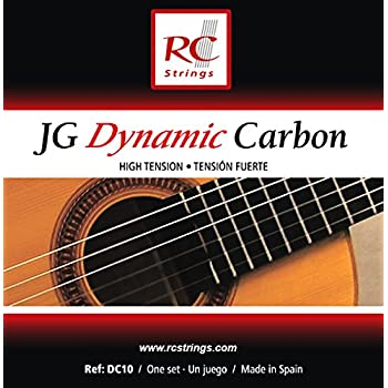 Royal Classsics DC10 - Cuerdas para guitarra, tensión fuerte ...