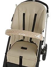 Funda barra seguridad para silla de paseo personalizada Longitud 60 cm tejido plastificado