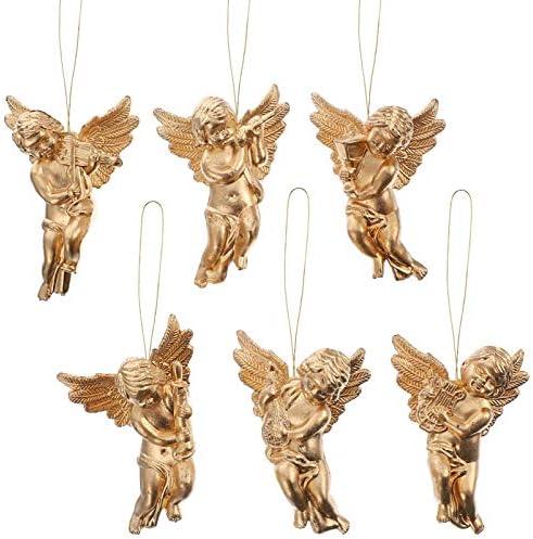 Miniature angel figurines