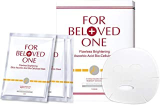 Sponsored Ad - FOR BELOVED ONE Flawless Ethyl Ascorbic Acid Bio-Cellulose Facial Treatment Mask (33g x 3pieces/box)