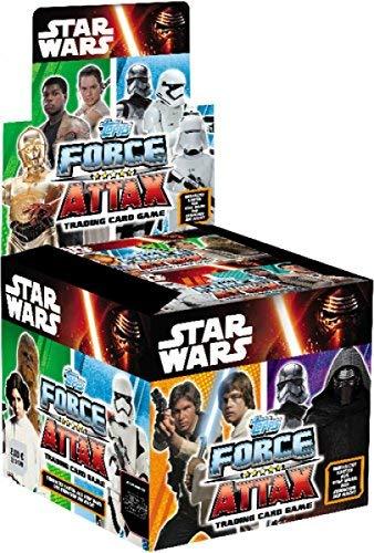 Star Wars Force Attax Das Erwachen der Macht Display mit 50 Booster