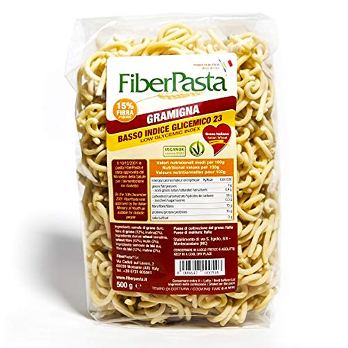 Fiber Pasta Gramigna a basso indice glicemico