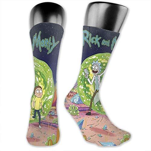 NR Rick & Morty - Calcetines deportivos para hombre y mujer