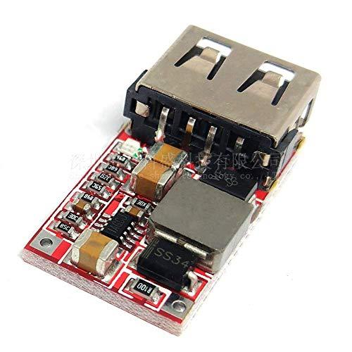 Nologo YO-TOKU Efficiency 97.5% DC-DC step-down module 6-24V12V24V turn 5V3A Car USB mobile phone charger Spot Steuermodul Modules CE