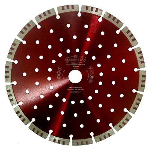 MST Diamante (230x 22.2mm, altura del segmento 10mm diamante 230mm MST