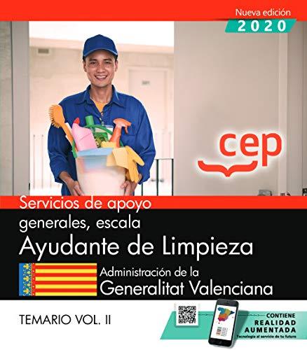 SERVICIOS APOYO GENERA AYUDANTE LIMPIEZA VALENCIANA VOL 2