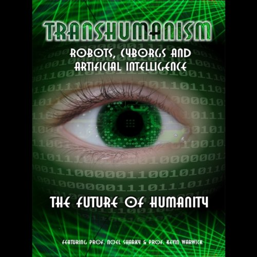 Transhumanism audiobook cover art