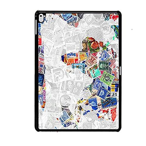 Interesante Boy Compatible con Apple Ipad Pro 9.7 Hard Abs Phone Cases Impresión Mapa del Mundo
