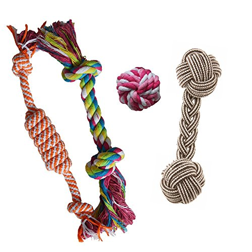 Alvi & Remi Puppy Chew Teething Rope Toys Set