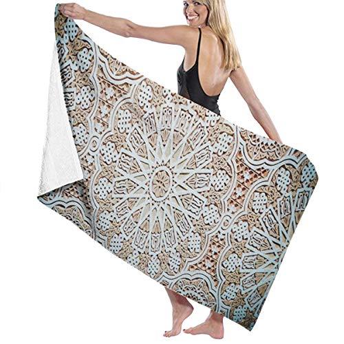 Rterss grote badhanddoeken badhanddoek set zachte zeer absorberende unisex geschikt voor badkamer zwembad strand mancharo stucwerk plafond gepersonaliseerd