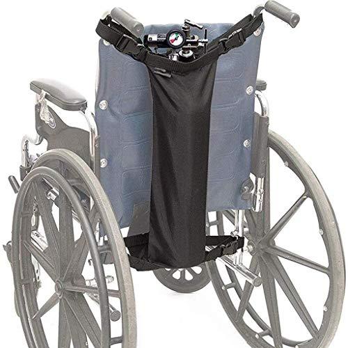 LYPDD Rolstoel Rugzak - Zwart - Geweldig Accessoire Pack voor Uw Mobiliteit Apparaten. Past op de meeste scooters, wandelaars, rollator naar opslag hulpapparatuur