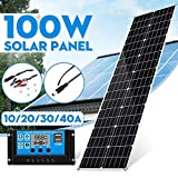 Pannello solare 100W pannello solare flessibile celle solari a film sottile Piccolo pannello solare regolatore del regolatore di caricabatteria da auto per Outdoor