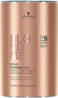 comprar comparacion Schwarzkopf BlondMe Bond Enforcing Premium Lightener 9+ Dust Free Powder, Tinte Capilar 9 Niveles, 450 gr