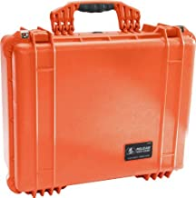 Pelican Products 1550-005-150 Pelican 1550EMS Medium Case with Organizer and Divider (Orange) (Renewed)