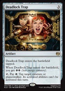 Magic The Gathering - Deadlock Trap (204/264) - Kaladesh - Foil