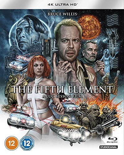 Fifth Element. The (2 Blu-Ray) [Edizione: Regno Unito] [Blu-ray]