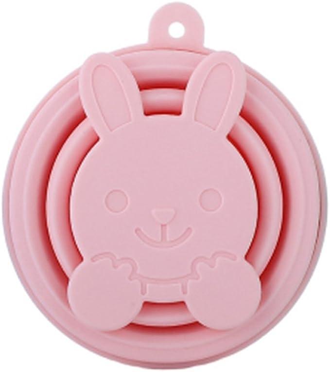 ZYCX123 La Taza Plegable del silicón Que dobla el silicón no tóxico Plegable del alimento: BPA-Taza de café Portable Libre para Caminar el Acampar al ...