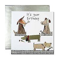 バースデーカード 「ハーモニー」 16 犬たち バースデーカード birthday card