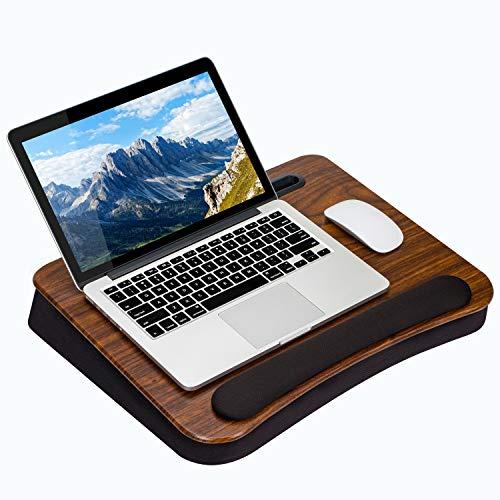 LapGear Smart-e Pro Lap Desk - Espresso (se Adapta a portátiles de hasta 15')