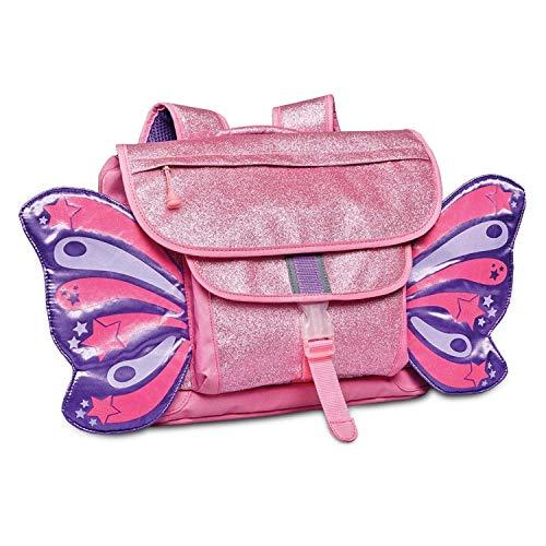 Bixbee Sparkalicious Roze Butterflyer Rugzak, Medium