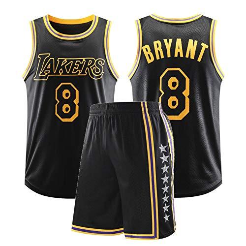 Bryant Los Angeles Lakers Mamba City Edition Swingman - Conjunto de camiseta conmemorativa retro para hombre, versión clásica