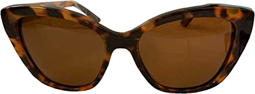 lowest Foster high quality Grant Women's Polarized Cat Eye Sunglasses sale Brown Cheetah Fashion Summer online sale