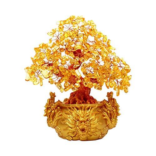 Decoración De Mesa De �rbol De Dinero Feng Shui, árbol De Dinero...