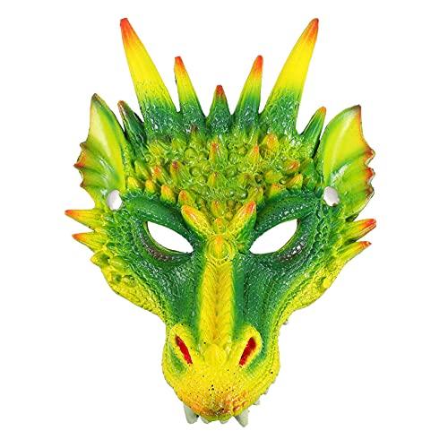 Tomaibaby Máscaras de Dragón en 3D Máscara de Animales de Miedo Máscara Completa...