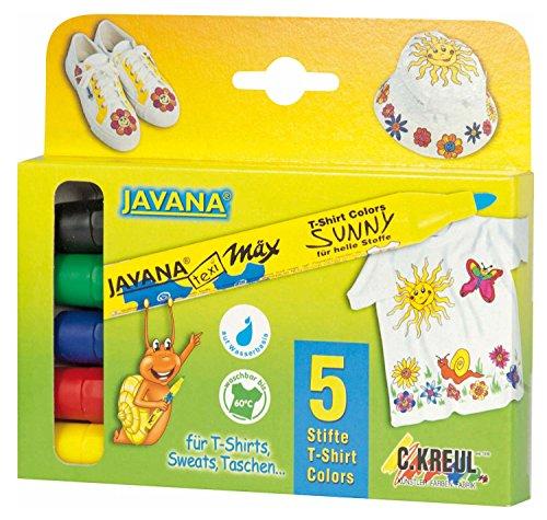 Corvus - A600540 - Crayons Pour Étoffes 5 Pièces