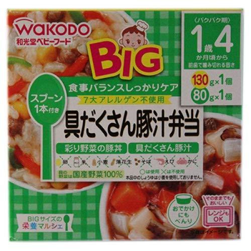 和光堂『BIGサイズの栄養マルシェ 具だくさん豚汁弁当』