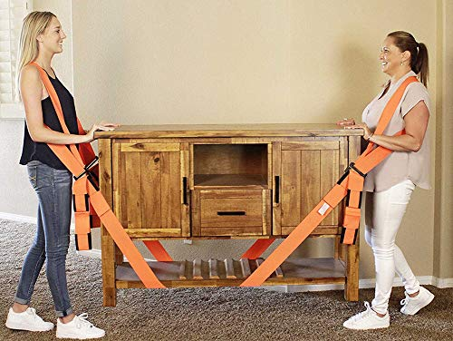 Lifting and Moving Straps 2 Person Shoulder and Wrist Moving Belts for...