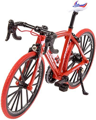 Ancheer Ebike, Bicicleta eléctrica de diseño ergonómico, Mini Bicicleta Modelo Rojo