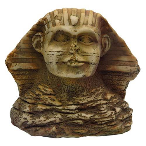 ALIANG Estatua de Cabeza egipcia, pequeño Rey Egipcio Tut, Figura Coleccionable,...