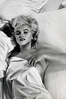 Buyartforless Rare Photograph of Marilyn Monroe Hot Mess in Bed 12x18 Art Printed Poster Made in The USA