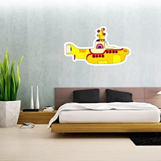 The Beatles Yellow Submarine Wall Graphic Decal Sticker 25