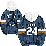 Hoodie Stilinski 24 Lahey McCall Pullover Sweatshirt Male Print Hooded Hip Hop Hoddies Streetwear Teen Wolf (1,4XL)