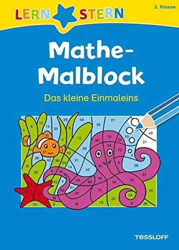 LERNSTERN Mathe-Malblock 2. Klasse. Das kleine Einmaleins