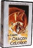 Tarot du Dragon Celtique - Estuche divinatorio con libro y 78 cartas